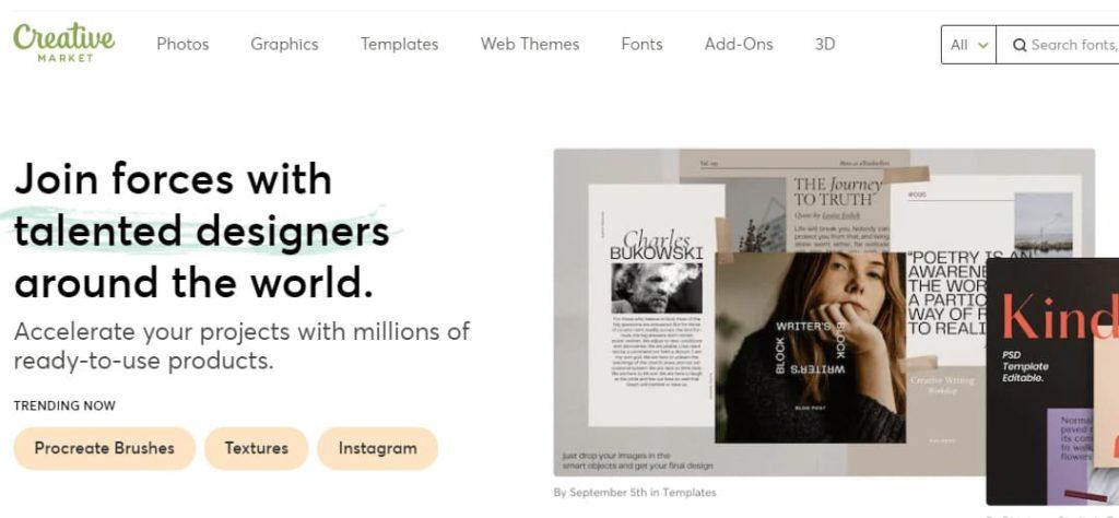 Creative Market Banco de imágenes