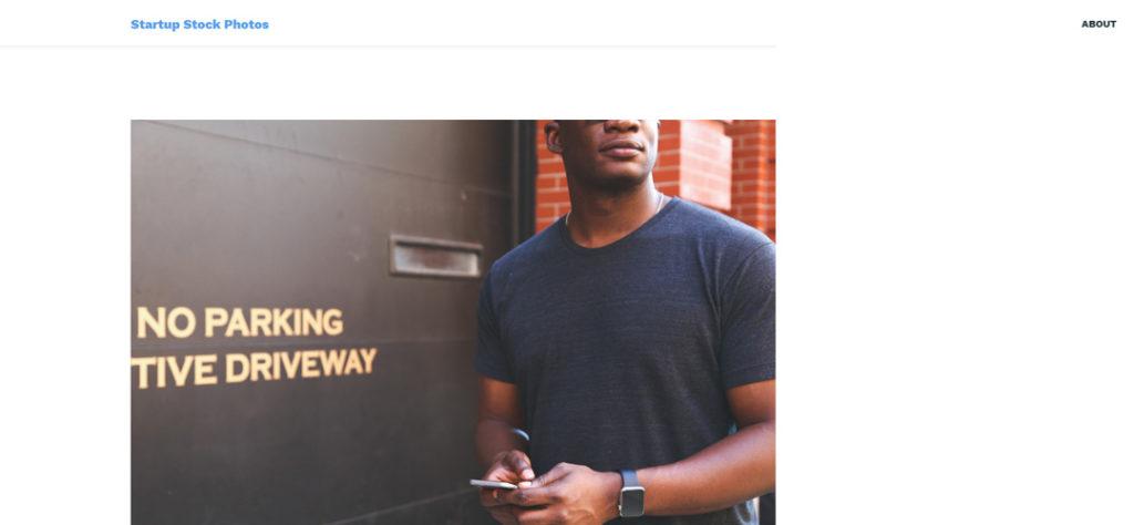 Startup Stock Banco de imágenes