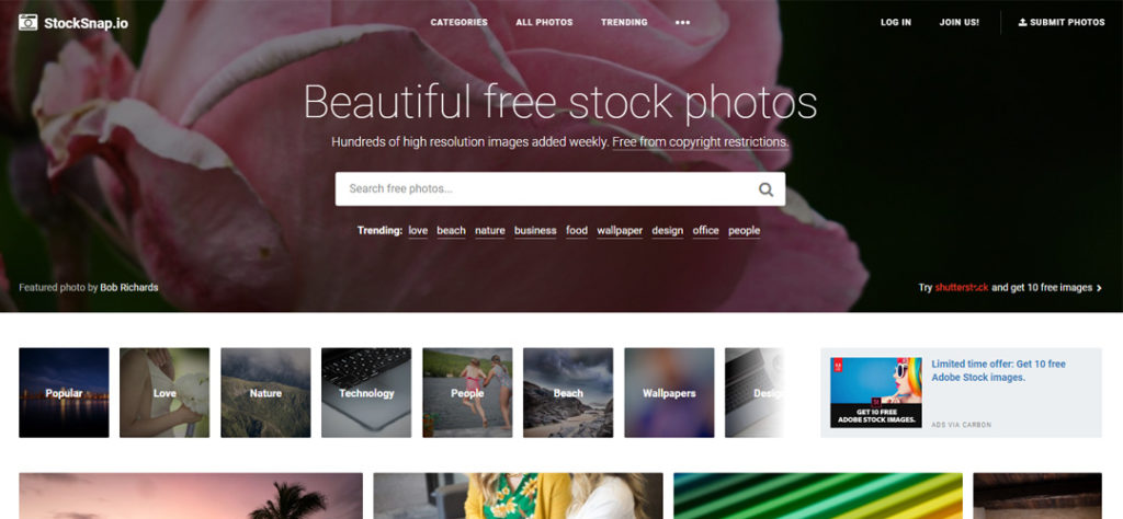 Stocksnap Banco de imágenes